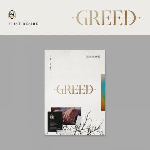 [KIM WOO SEOK] - Solo Album Vol.1 [GREED] (W Ver.)