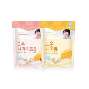 BEBEFOOD - CHEESE MELTS  2 FLAVORS (16g*2ea)