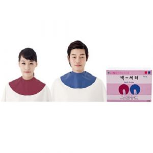 [Line] Salon Barber Shop Neck Shutter (Blue/Pink)