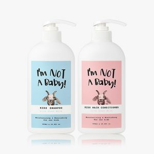 INAB_Kids Shampoo with Goat Milk 500ml Hair Conditioner With Goat Milk 500ml
