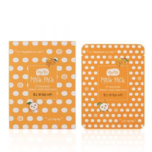Tangerine Bright+Moist MASK PACK 23ml*10pcs