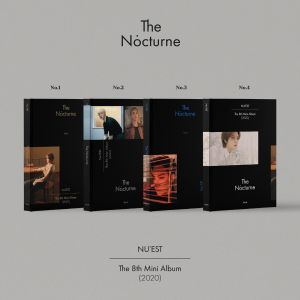 [SET] [NU'EST] - Mini Album Vol.8 [The Nocturne] (Ver.1+2+3+4)