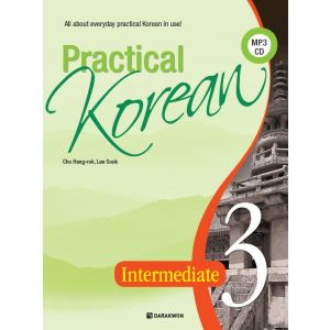 [Darakwon] Practical Korean 3 – Intermediate (English Ver.)