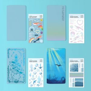 Shil Note 110*210 Under the Sea Series