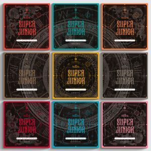 SUPER JUNIOR -  Album Vol.10 [The Renaissance]  SQUARE Style  (Random Ver.)