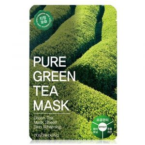 TOSOWOONG Pure Green Tea Mask 10pcs