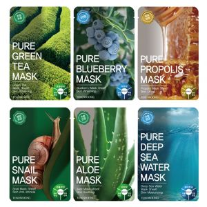 TOSOWOONG Pure Mask Set 6pcs