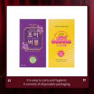 [TSP KOREA]Joy Bubble, All-in-one bubble shower towel(For adult, For kids / 10 in 1box)