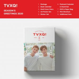PRE-ORDER [TVXQ!] - SEASON'S GREETINGS (2020)