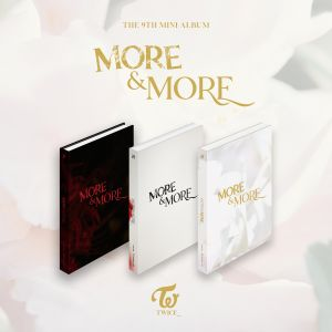 [TWICE] - Mini Album Vol.9 [MORE & MORE] (Random Ver.)