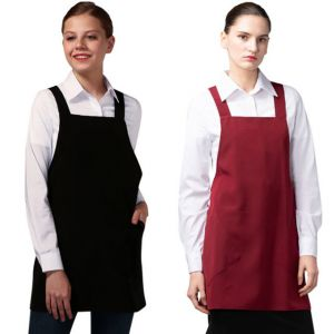 [Yodel] YA066 Pinkle Short Hair Salon Apron (2 Colors / 2 Size Options)