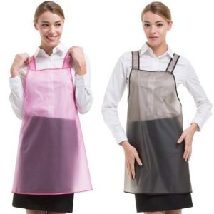 [Yodel] YA039 Semitransparent Hair Salon Apron 70cm (2 Colors)