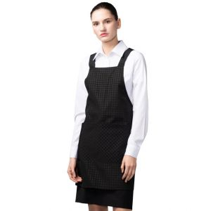 [Yodel] YA094 Waterproof Honey Check Hair Salon Apron