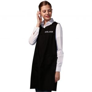 [Yodel] MD352 Model Dewspo Hair Salon Apron (Black)