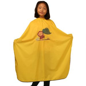 [Yodel] MD2008 Kids Hair Salon Cut Cape (Yellow)
