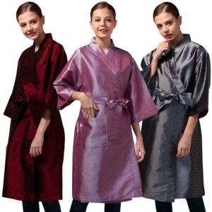 [Yodel] SP001 Jacquard Raw Hair Salon Robe (3 Colors)