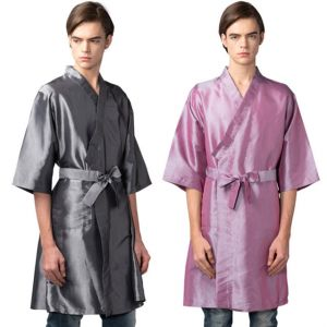 [Yodel] SP002 N/P Raw Hair Salon Robe (2 Colors)