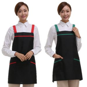 [Yodel] YA036 Hello I Hair Salon Apron (2 Colors / 2 Size Options)