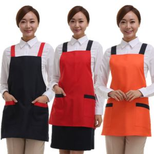 [Yodel] YA037 Hello II Hair Salon Apron (3 Colors / 2 Size Options)