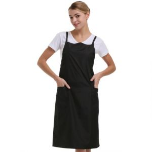 [Yodel] YA043 Nail Technician Manicurist Salon Apron (Black)