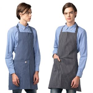 [Yodel] YA079 Halter Neck Stripe Hair Apron