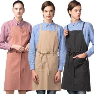 [Yodel] YA109 Linen Simple Hair Salon Apron