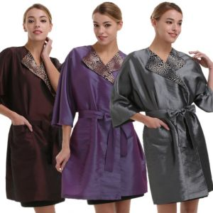 [Yodel] YG009 Leopard Collar Hair Robe (3colors)