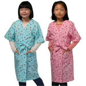 [Yodel] YG011 Strawberry Floral Kids Hair Robe (2 colors)