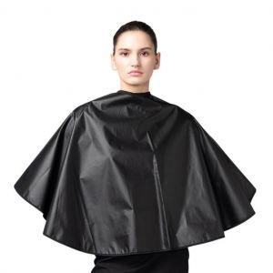 [Yodel] YP016 Large Form Coated Hair Perm Cape (BLACK)